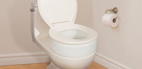 Rehausseurs de toilette, par AquaSense®