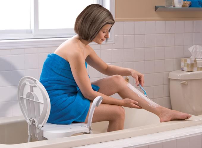 Siège de bain pliable, par AquaSense®