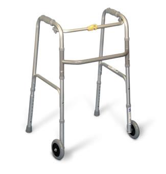 Marchette pliante Airgo® avec roues de 5 po. (12,7 cm)