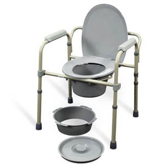 Chaise d'aisance pliable MedPro