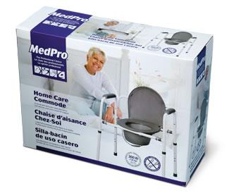 Chaise d'aisance Chez-soi MedPro