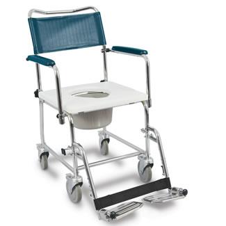 Chaise d'aisance MedPro® Euro avec appuis-bras pivotants verrouillables